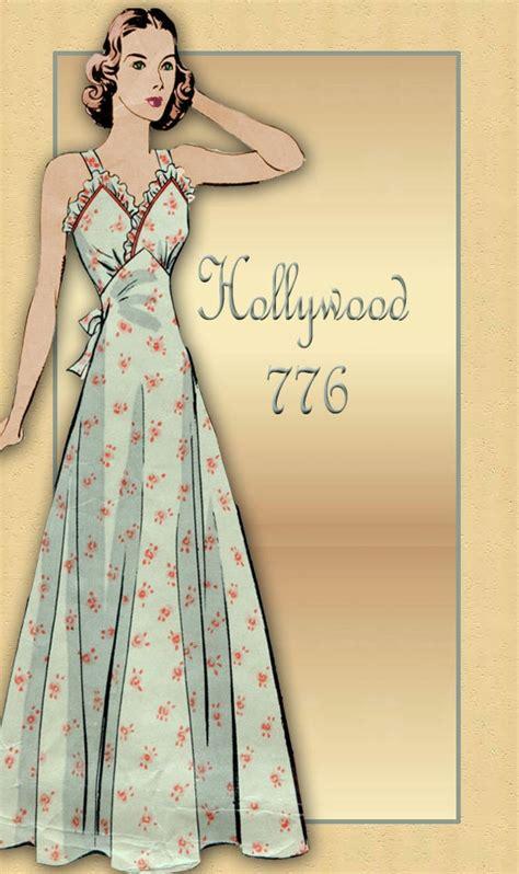 vintage nightwear pattern 40 best images about vintage style lingerie on pinterest