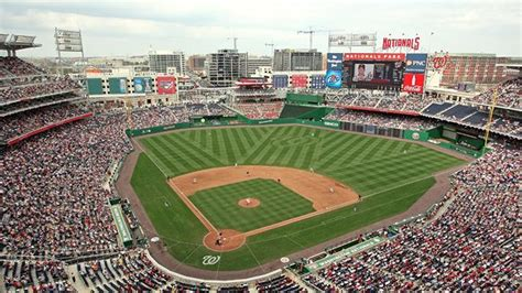 washington dc map nationals stadium nationals park seating chart pictures directions and