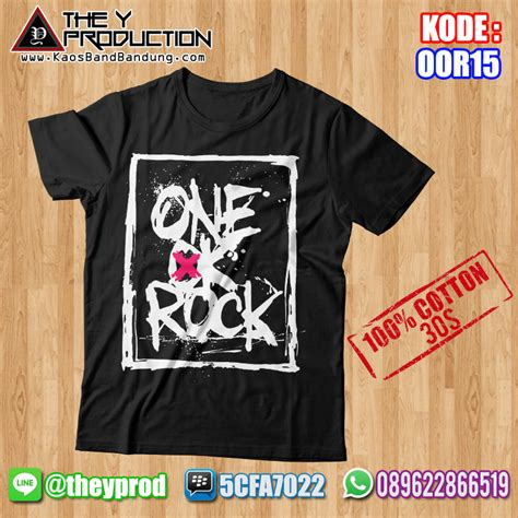 Kaos Rock kaos one ok rock oor15 kaosbandbandung
