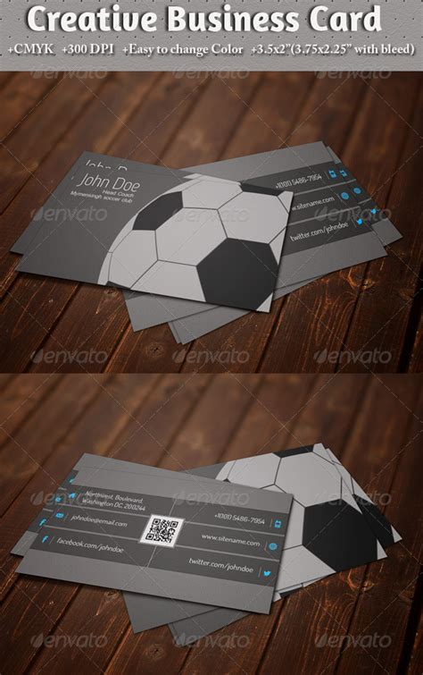Soccer Business Card Templates Free by Free Psd Soccer Posters Template 187 Dondrup