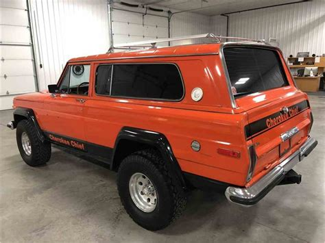 jeep chief for sale 1978 jeep cherokee chief for sale classiccars com cc