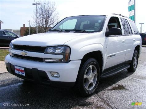 chevrolet trailblazer white 2004 summit white chevrolet trailblazer ls 4x4 27543974