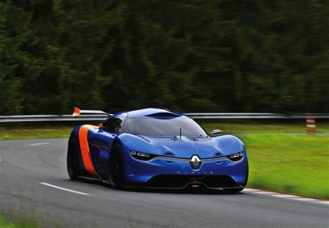renault alpine renault alpine a110 50 concept officially unveiled