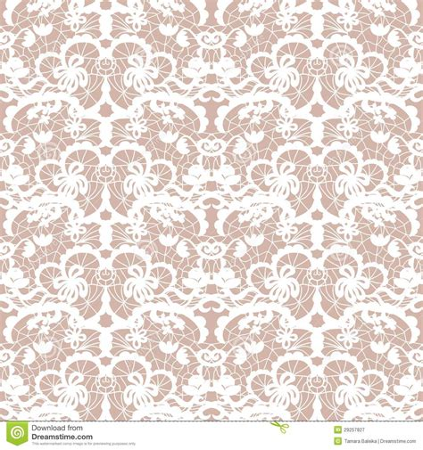 seamless lace pattern vector lace vector fabric seamless pattern stock vector image