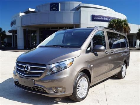 mercedes minivan 2018 mercedes metris passenger minivan in