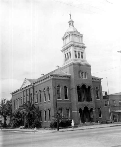 Nassau County Florida Court Records Florida Memory Nassau County Courthouse Fernandina Florida