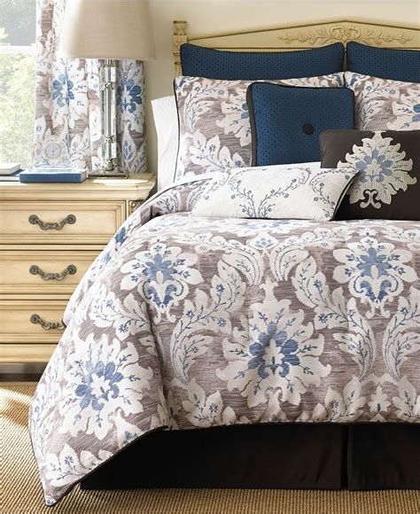 macy comforter sets waterford emerson comforter sets bedding collections