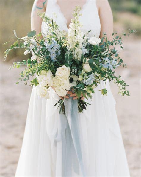 Wedding Flower Ideas Blue by Dusty Blue Wedding Palette Colors Blue Wedding Bouquet