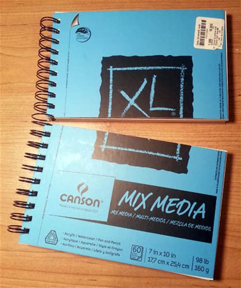 sketchbook canson xl pen paper larry d marshall