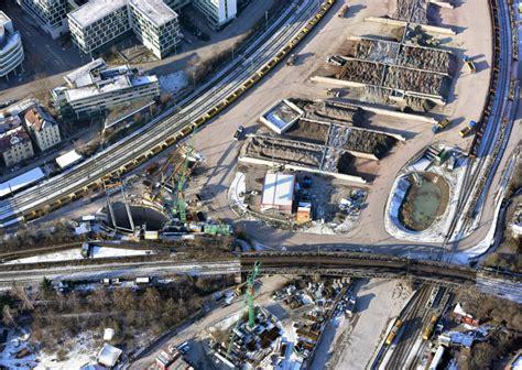 innerer nordbahnhof stuttgart stuttgart 21 transport 8 millionen tonnen abraum tunnel