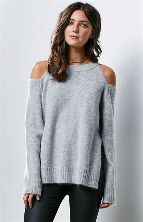cold shoulder sweater pinned by kimbalikes kimba