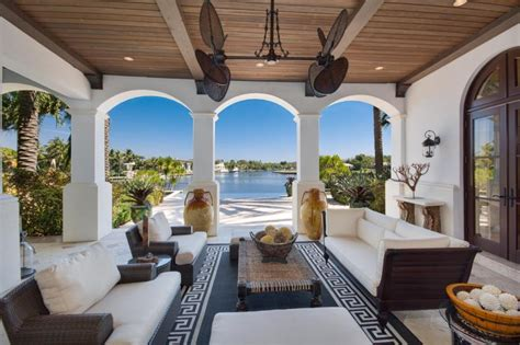 palatial two story master suite in mediterranean style fabulous living room greek mediterranean style homes interior