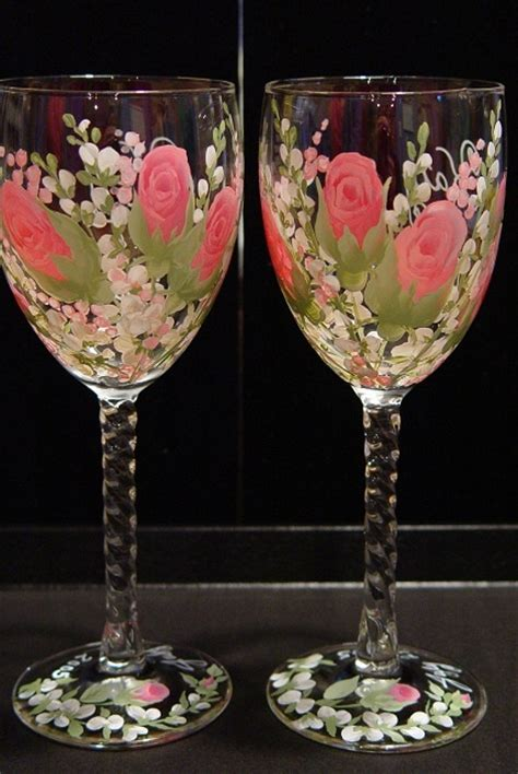 paint with a twist wine glass 25 best ideas about waterford wine glasses on