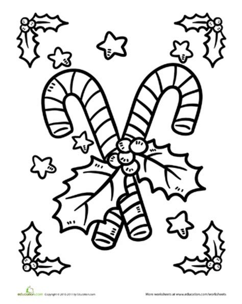 candy cane coloring page candy canes wonderful time
