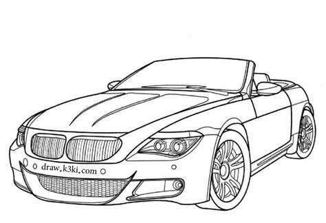 coloring pages of convertible cars رسومات سيارات جاهزة للتلوين
