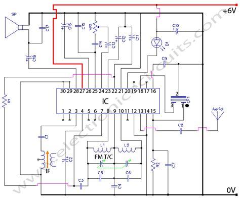 fm radio receiver circuit diagram pdf cxa1019 fm radio circuit diagram electronic circuits