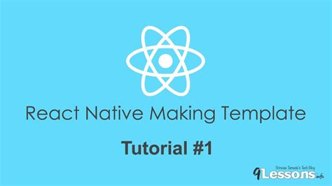 react native tutorial youtube react native making template nativebase tutorial 1 youtube