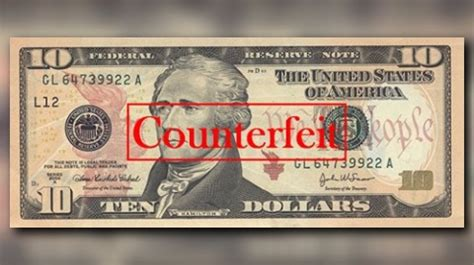 12news.com | report: counterfeit $10 bills are circulating