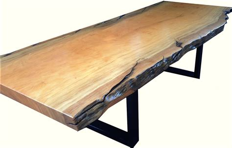 natural wood dining room table natural edged wood dining room table phases africa