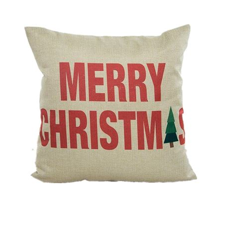 Merry Pillow by Throw Pillow Covers 3 90 Shipped Thrifty Nw