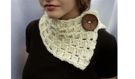 bufanda cuello en crochet o ganchillo de lana o estambre bufandas de cuello a crochet imagui