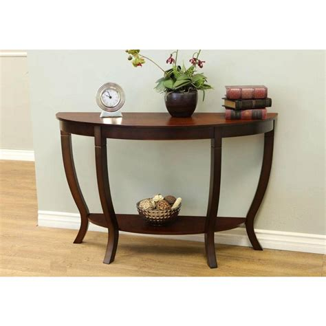International Concepts Unfinished Java Sofa Table With 2 Lewis Wood Sofa Table
