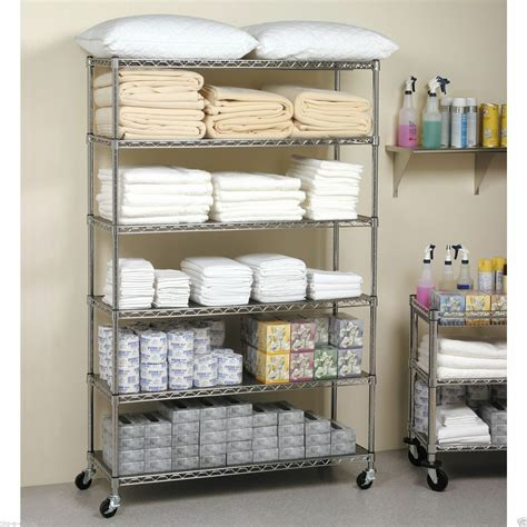 commercial metal shelving commercial steel rolling storage shelving rack metal wire