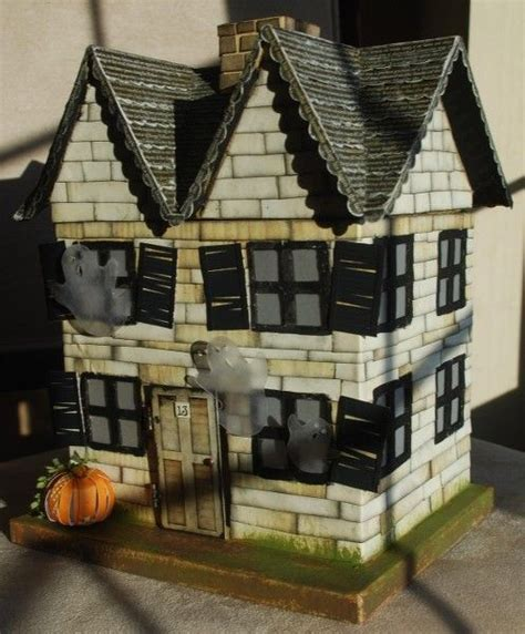How To Make A Paper Haunted House - 25 best images about dollhouses on