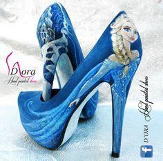 frozen high heels frozen on elsa olaf and disney frozen