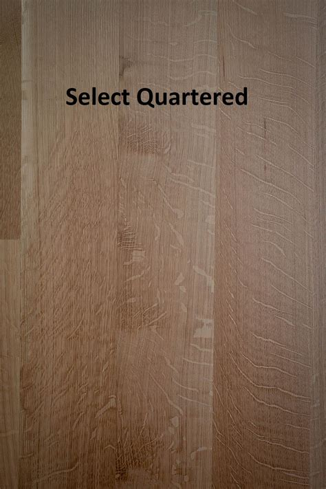 Unfinished Solid White Oak Rq Rift  Quartered
