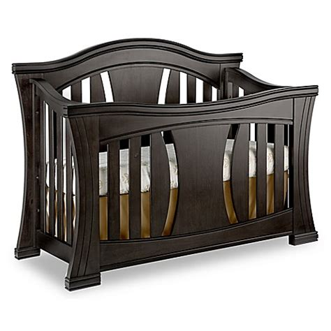 Baby Appleseed 174 Palisade 4 In 1 Convertible Crib In Slate Baby Appleseed Crib