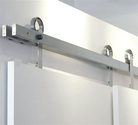 Barn Door Hardware Stainless Steel Stainless Steel Bypass Barn Door Hardware Doors Ideas