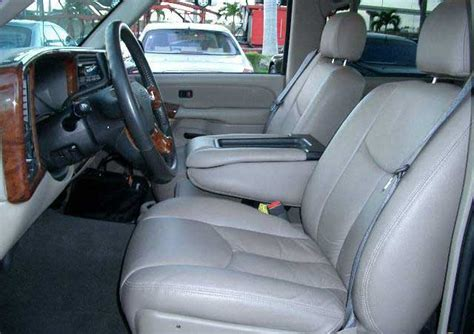 2004 chevrolet avalanche genuine leather seat covers