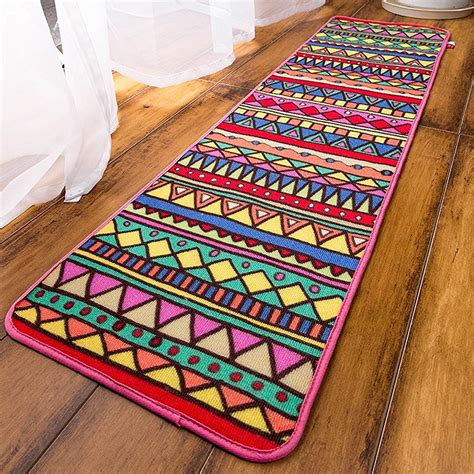 washable rug runners bathroom rug runner washable rugs ideas