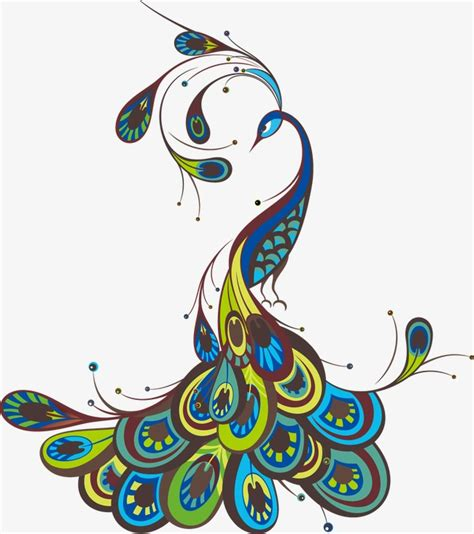peacock color feather png and vector for free download