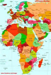 Europe Africa Map by Brenna Journeys 12 1 10 1 1 11