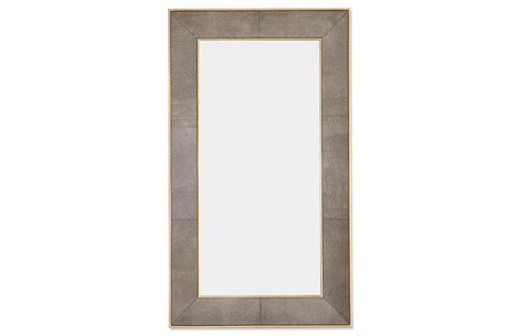 samantha 48 quot x84 quot floor mirror brown floor mirrors mirrors art mirrors one kings lane