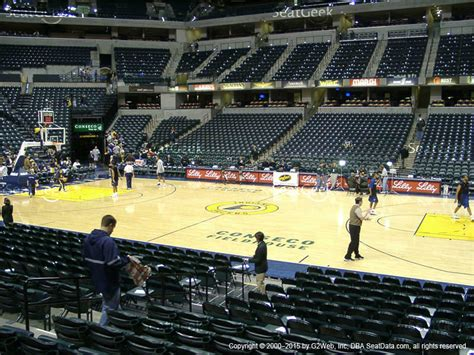 section 16 a bankers life fieldhouse seat views seatgeek