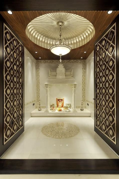Interior Design For Mandir In Home by 10 Pooja Room Door Designs For Your Home