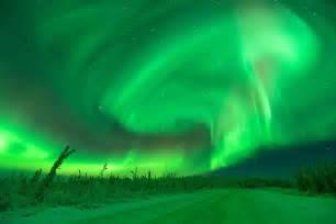 northern lights fairbanks alaska wondrous aurore
