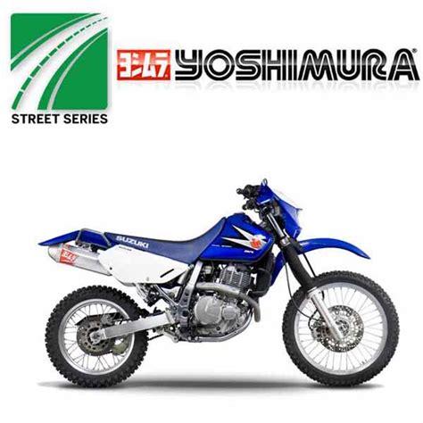 Suzuki Dr650 Upgrades Suzuki Dr650 1996 2017 Yoshimura Exhausts Yoshimura