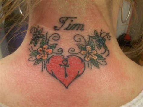 tattoo on neck heart 35 stunning heart neck tattoos