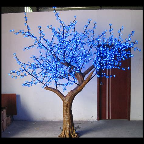 tree branch home decor outdoor romantic latest led stage decoration artificial
