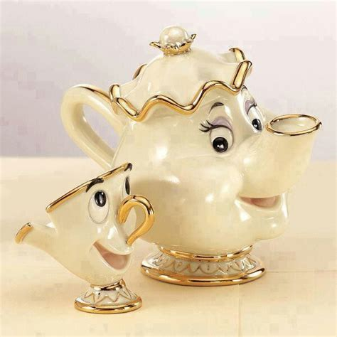 beauty and the beast pot beauty and the beast tea pot and cup awesome things d