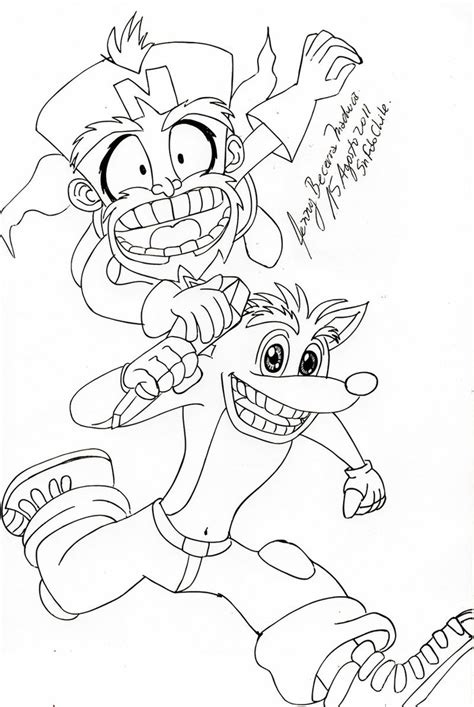 crash bandicoot twinsanity by jendalia on deviantart