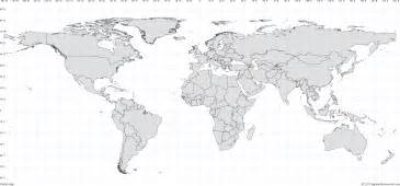 blank us map with latitude and longitude lines blank map with latitude and longitude