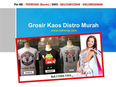 Kaos Distro Why Not Promo grosir kaos distro murah istrendy