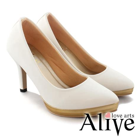 Alivelovearts White alivelovearts chesier white sepatu heel wanita shopee