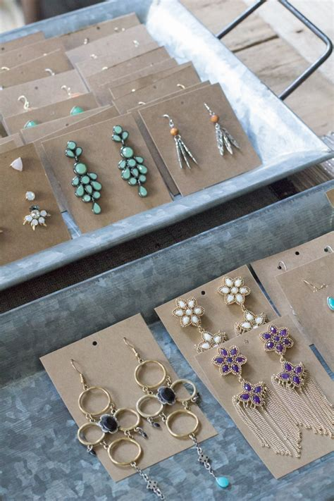 how to make jewelry cards earring display cards modish
