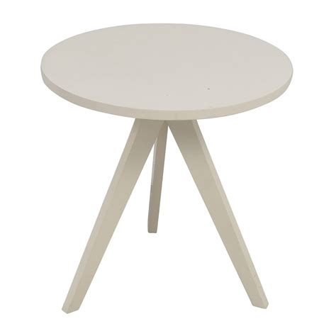 west elm round 87 off west elm west elm white round tripod